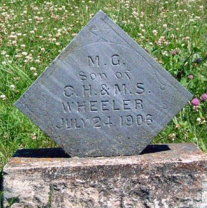 WHEELER, M. G. - Madison County, Iowa | M. G. WHEELER
