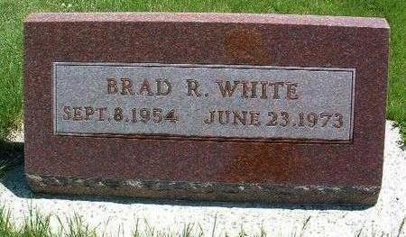 WHITE, BRAD R. - Madison County, Iowa   BRAD R. WHITE