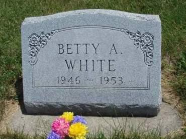 WHITE, BETTY ANN - Madison County, Iowa | BETTY ANN WHITE
