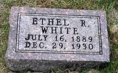 WHITE, ETHEL RUE - Madison County, Iowa | ETHEL RUE WHITE
