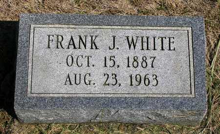WHITE, FRANK JAMES - Madison County, Iowa | FRANK JAMES WHITE