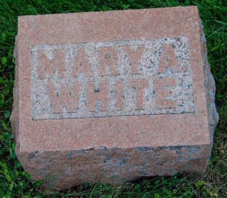 WHITE, MARY ANN - Madison County, Iowa | MARY ANN WHITE