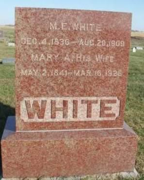 WHITE, MICHAEL EARLONGHER - Madison County, Iowa | MICHAEL EARLONGHER WHITE