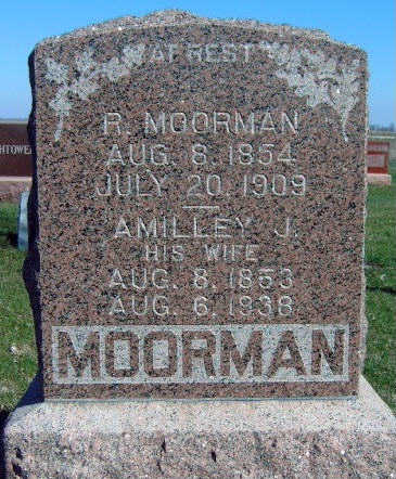 WHITE MOORMAN, AMILLEY JANE - Madison County, Iowa | AMILLEY JANE WHITE MOORMAN