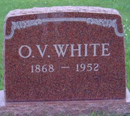 WHITE, OTTO V. - Madison County, Iowa | OTTO V. WHITE