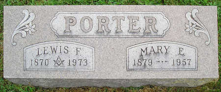 WHITE PORTER, MARY ELLEN - Madison County, Iowa | MARY ELLEN WHITE PORTER