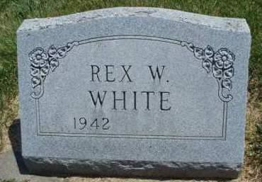 WHITE, REX WILLIS - Madison County, Iowa | REX WILLIS WHITE