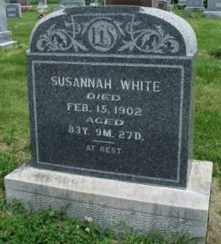 WHITE, SUSANNAH - Madison County, Iowa | SUSANNAH WHITE