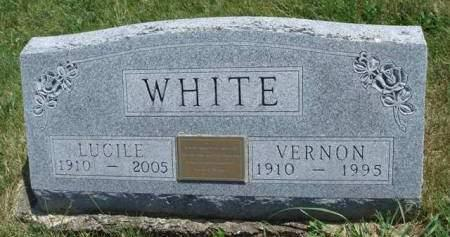 OLSON WHITE, ONIE LUCILE - Madison County, Iowa | ONIE LUCILE OLSON WHITE