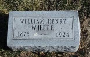 WHITE, WILLIAM HENRY - Madison County, Iowa | WILLIAM HENRY WHITE