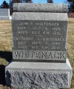 WHITENACK, CATHERINE J. - Madison County, Iowa | CATHERINE J. WHITENACK