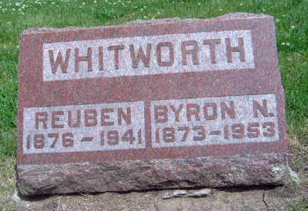 WHITWORTH, BYRON N. - Madison County, Iowa | BYRON N. WHITWORTH