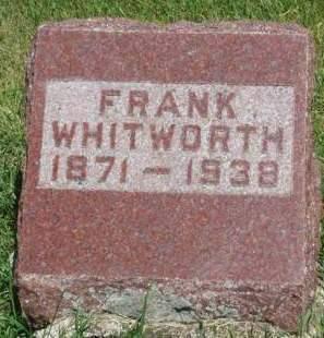WHITWORTH, BENJAMIN FRANKLIN (FRANK) - Madison County, Iowa | BENJAMIN FRANKLIN (FRANK) WHITWORTH