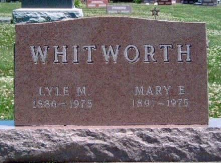 BROWN WHITWORTH, MARY EDITH - Madison County, Iowa | MARY EDITH BROWN WHITWORTH