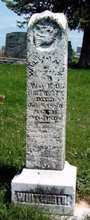 WHITWORTH, WILLIAM A. - Madison County, Iowa | WILLIAM A. WHITWORTH