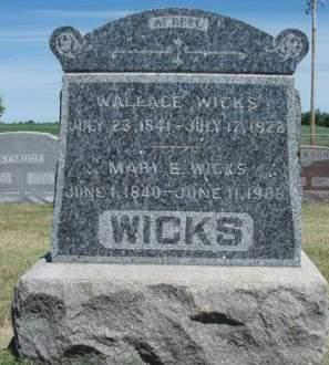 WICKS, MARY ELIZABETH - Madison County, Iowa | MARY ELIZABETH WICKS