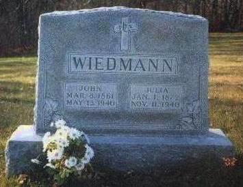 WIEDMANN, JOHN - Madison County, Iowa | JOHN WIEDMANN
