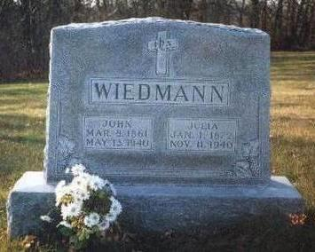 WIEDMANN, JULIA - Madison County, Iowa | JULIA WIEDMANN