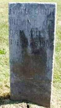 WILLCOX, JOHN  (LITTLE JOHN) - Madison County, Iowa | JOHN  (LITTLE JOHN) WILLCOX
