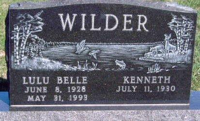 WILDER, LULU BELLE - Madison County, Iowa | LULU BELLE WILDER