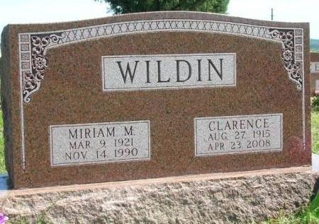 WILDIN, MARIAM MARGARET - Madison County, Iowa | MARIAM MARGARET WILDIN