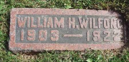 WILFONG, WILLIAM HUNTER - Madison County, Iowa | WILLIAM HUNTER WILFONG