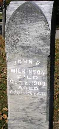 WILKINSON, JOHN B. - Madison County, Iowa | JOHN B. WILKINSON