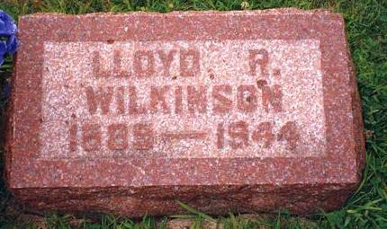 WILKINSON, LLOYD R. - Madison County, Iowa | LLOYD R. WILKINSON