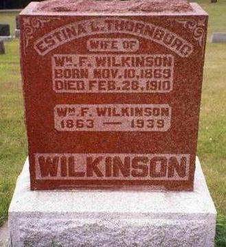THORNBURG WILKINSON, ESTINA LOIS - Madison County, Iowa | ESTINA LOIS THORNBURG WILKINSON