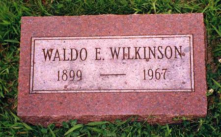 WILKINSON, WALDO EMERSON - Madison County, Iowa | WALDO EMERSON WILKINSON