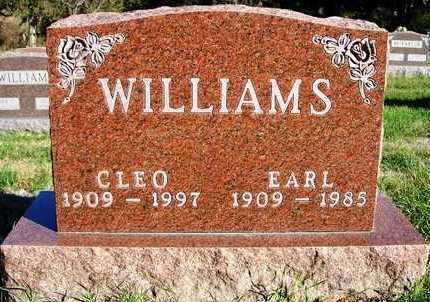 CLOPTON WILLIAMS, CLEO - Madison County, Iowa | CLEO CLOPTON WILLIAMS