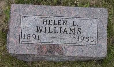HOENESS WILLIAMS, HELEN LYDIA - Madison County, Iowa | HELEN LYDIA HOENESS WILLIAMS