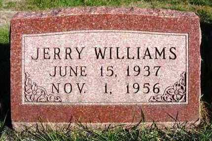 WILLIAMS, JERRY - Madison County, Iowa | JERRY WILLIAMS
