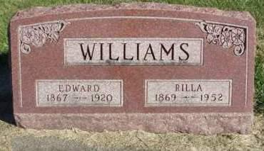 WILLIAMS, AMARILDA MAY (RILLA) - Madison County, Iowa | AMARILDA MAY (RILLA) WILLIAMS