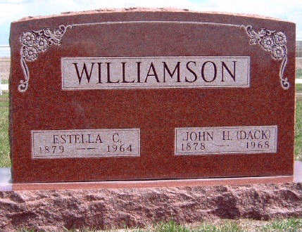 WILLIAMSON, JOHN HARVEY 'DACK' - Madison County, Iowa | JOHN HARVEY 'DACK' WILLIAMSON