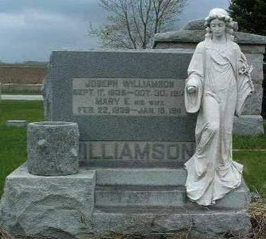 ADAMS WILLIAMSON, MARY E. - Madison County, Iowa | MARY E. ADAMS WILLIAMSON
