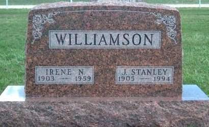 WILLIAMSON, IRENE - Madison County, Iowa | IRENE WILLIAMSON