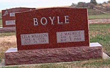 WILLISON BOYLE, LELA S. - Madison County, Iowa | LELA S. WILLISON BOYLE