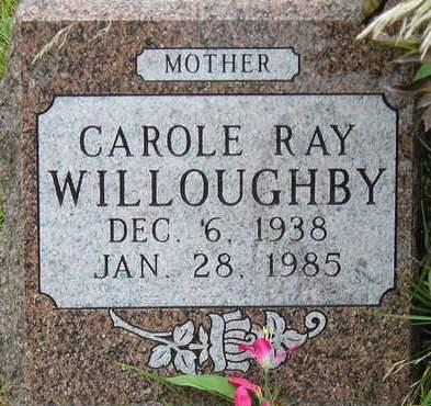 WILLOUGHBY, CAROLE RAY - Madison County, Iowa | CAROLE RAY WILLOUGHBY