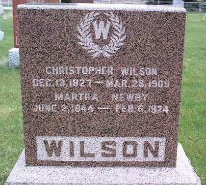 WILSON, CHRISTOPHER C. - Madison County, Iowa | CHRISTOPHER C. WILSON