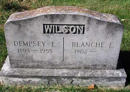 WILSON, BLANCHE E. - Madison County, Iowa | BLANCHE E. WILSON