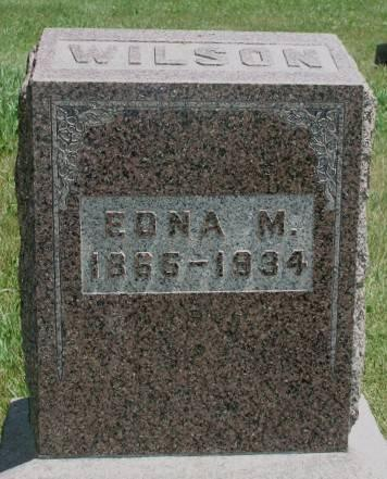 WILSON, EDNA M. - Madison County, Iowa | EDNA M. WILSON