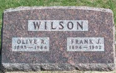 WILSON, FRANK J. - Madison County, Iowa | FRANK J. WILSON