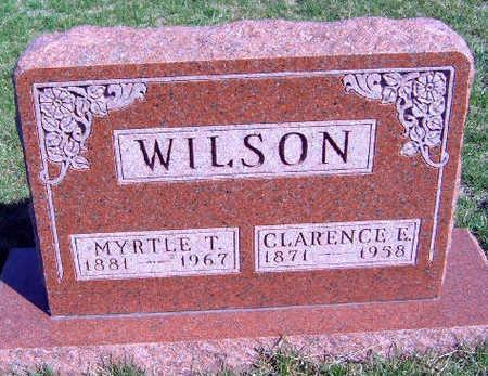 WILSON, MYRTLE 'MILLIE' - Madison County, Iowa | MYRTLE 'MILLIE' WILSON