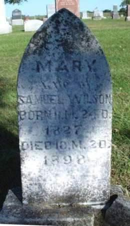 MILLS WILSON, MARY - Madison County, Iowa | MARY MILLS WILSON