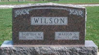 WILSON, DORTHA M. - Madison County, Iowa | DORTHA M. WILSON
