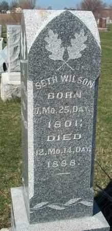 WILSON, SETH - Madison County, Iowa | SETH WILSON