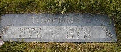 WILSON TOMPKINS, MYRTLE EDNA - Madison County, Iowa | MYRTLE EDNA WILSON TOMPKINS