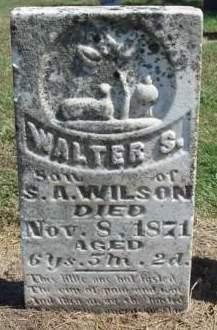 WILSON, WALTER S. - Madison County, Iowa | WALTER S. WILSON