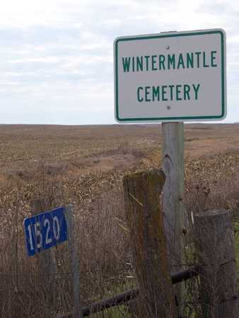 WINTERMANTLE, CEMETERY - Madison County, Iowa | CEMETERY WINTERMANTLE